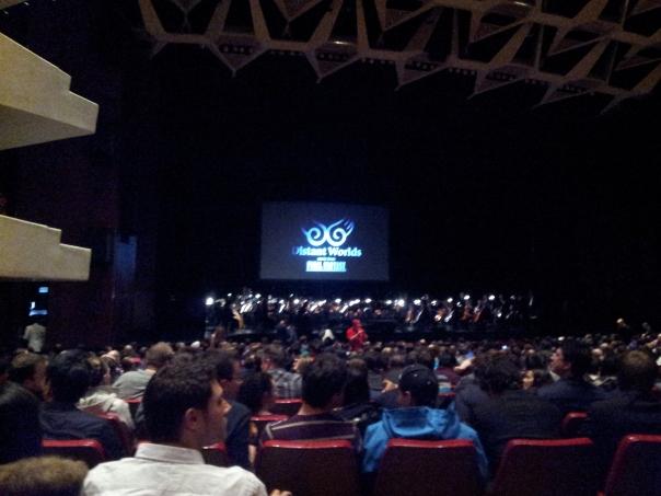Quelques minutes avant la représentation