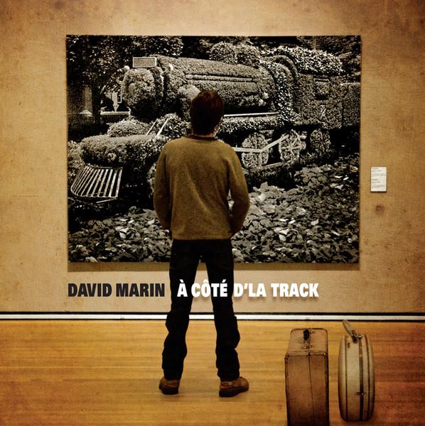 David Marin à côté d'la track