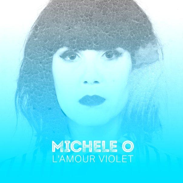 Michèle O Amour violet