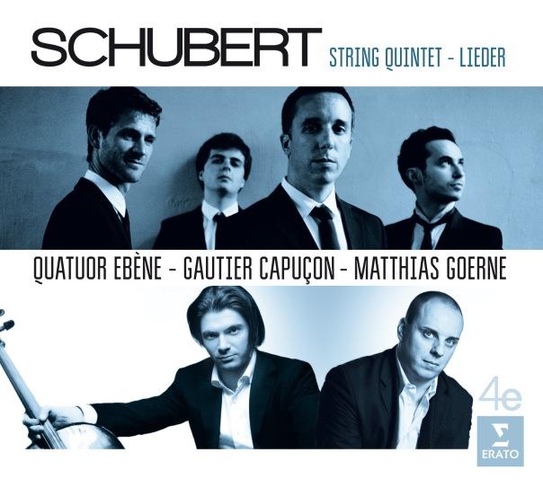 Quatuor_Ebene_Schubert_Cover