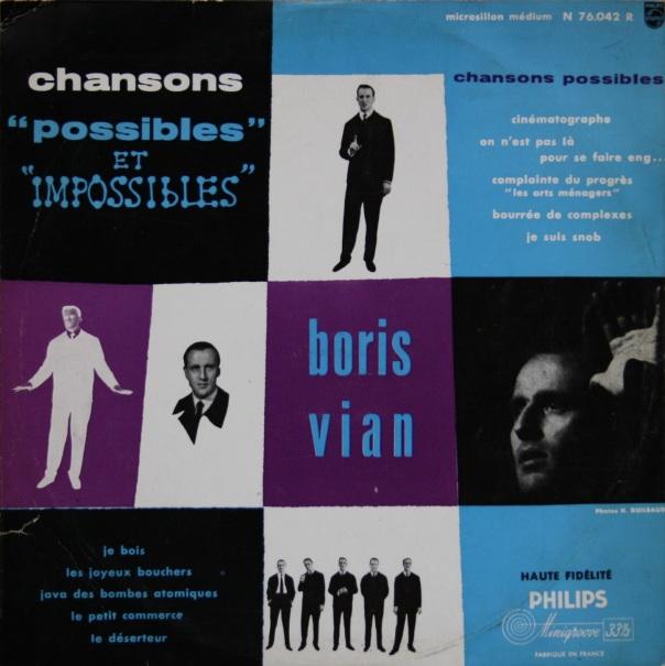 boris vian chansons possibles et impossibles